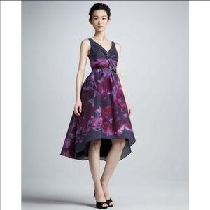 Lela Rose Nieman Marcus Target Silk Blend Dress